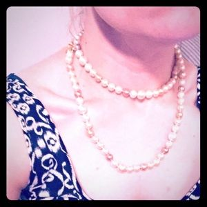 Cookie Lee Faux Pearl Necklace